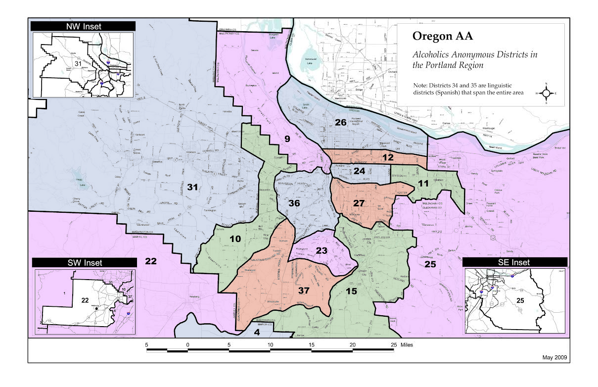 Portland_districts_map